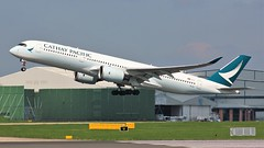 B-LRJ (AnDyMHoLdEn) Tags: cathaypacific a350 oneworld egcc airport manchester manchesterairport 23r