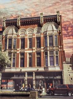 Jefferson City Missouri - Courthouse Cafe  and Delhi -