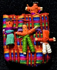 #trinkets, #MacroMonday, # Guatemala Worry Dolls, (David McSpadden) Tags: trinkets macromonday guatemalaworrydolls dolls worry guatemala