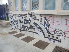 549 (en-ri) Tags: kter chat crew nero argento 2016 torino wall muro graffiti writing eryt