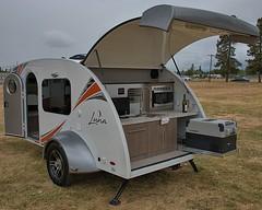 The Luna Camper (Scott 97006) Tags: camper small custom creative trailer tow teardrop