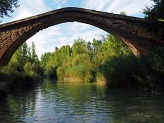 Bridge (pepa_carbassa) Tags: aragón huesca colungo riu rio fleuve river aigua agua eau water pont puente bridge
