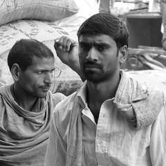 new delhi portrait (gerben more) Tags: people portrait portret man newdelhi delhi india olddelhi blackwhite monochrome