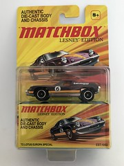 Mattel Matchbox - Lesney Edition - '72 Lotus Europa Special - Miniature Diecast Metal Scale Model Emergency Services Vehicle (firehouse.ie) Tags: lesneyedition lesney 1972 72 lotuseuropa lotus toys toy vehicule vehicle automobile l'auto coche car models model metal miniatures miniature matchbox mattel