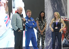 Q&A session (europeanspaceagency) Tags: fia18 fia2018 farnborough farnboroughairshow farnboroughinternationalairshow esa europeanspaceagency space universe cosmos spacescience science spacetechnology tech technology uk timpeake astronaut astronauts alworden