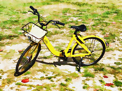 OFO Canvas (xtaros) Tags: wheel bicycle xtaros ofo yellow cycle bike biciclette velo ciclismo bicicletas bicicletta bicicleta fiets farad velosiped bicikl bisikleta jízdní kolo beic cykel fahrrad jalgratas bizikleta polkupyörä vélo rothar keke bisiklèt kerékpár sepeda igwe reiðhjól dviratis velosipēds bisikileta basikal roti sykkel njinga rower bicicletă bicykel baaskiil biçikletë baesekele sapedah baiskeli bisiklet ibhayisikili sunny