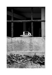 Stretto ! (CJS*64) Tags: croatia craigsunter cjs64 travel traveling blackwhite bw blackandwhite whiteblack whiteandblack mono monochrome stretto coffee coffeecup bars window nikon nikkorlens nikkor nikond7000 dslr d7000