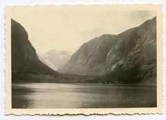 . (Kaïopai°) Tags: vintage 1940er 1940s occupation scandinavia hills berg berge mountain bucht küste coast meer sea fjord