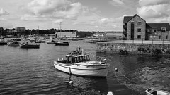 Royal William Yard Surrounds (RightCharlie100) Tags: plymouth royal william yard blackandwhite bw buildings boats sony e 20mm f28