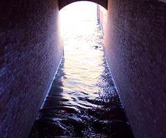 Lock canal ... (momirage) Tags: nile river canal channel tunnel water architecture engineering passage current fluid waves agriculture reflection wall bricks bridge light lock lockgate flow regulate egypt mysterious dark darkness deep depth