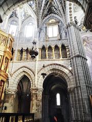 cabecera pinturas en columnas interior Catedral de Nuestra Señora de la Huerta de Tarazona Zaragoza (Rafael Gomez - http://micamara.es) Tags: cabecera pinturas en columnas interior catedral de nuestra señora la huerta tarazona zaragoza