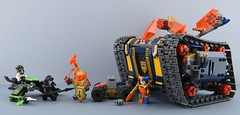 LEGO 72006 Axl's Rolling Arsenal⚔️ (Alex THELEGOFAN) Tags: lego legography minifigure minifigures minifig minifigurine minifigs minifigurines fortrex 72006 nexo knights jestro axl rolling arsenal tank