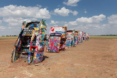 Cadillac Ranch (davebentleyphotography) Tags: roadtrip 2018 abandoned canon cadillacranch texas roadsideattraction art sculpture