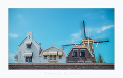 Typical Dutch (Fr@nk ) Tags: dsc09862zierikzeetypdutchdef1 krumpaf frnk mrtungsten62 holland zierikzee classicchrome sonya7r 2018 ccc windmill mill weather europe ciel himmel blue architecture dutch frame ccbyncnd20 137m sky clouds mrtungsten62rec rec0309 coth5 coth4 coth3 coth2 coth rec2609