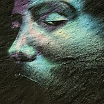 Rostro en tonos azules - Txemy thumbnail