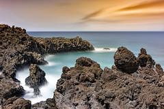 Ciel solaire (GLX PHOTOGRAPHIES AMATEURS) Tags: western espagne lanzarote vacances iles volcans mer canaries cier paysages poselongue longexposure panorama lac volcanique guillaume laloux nikon d810
