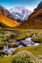 I found (Valter Patrial) Tags: mountains snow valley river longexposure peru salkantay