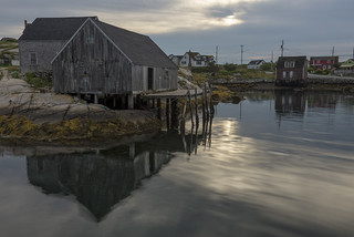 Early Morning at Peggys Cove