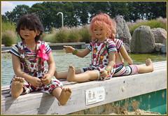 Da springen wir gleich rein ... (Kindergartenkinder 2018) Tags: annemoni setina reki leleti tivi sanrike kindra kindergartenkinder sommer naturbad olfen