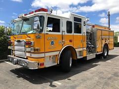 Santee Fire (Squad 37) Tags: santee sfd ems paramedic oshkosh pierce fire
