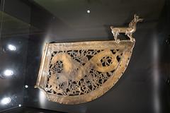 Facsimile of a Viking weathervane (quinet) Tags: 2017 canada ontario rom royalontariomuseum toronto vikings 124 vikingspictscelts