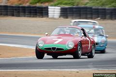 1964 Alfa Romeo TZ (autoidiodyssey) Tags: 2017rolexmontereymotorsportsreunion rmmr montereyhistorics rolexmontereymotorsportsreunion 1964 alfa romeo tz marnixdillenius salinas ca usa