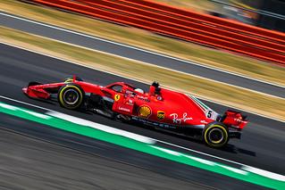 Sebastian Vettel - Ferrari SF71H - Silverstone