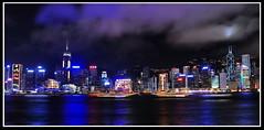 Hong Kong from Kowloon (meren34) Tags: hong kong kowloon night city sea skyscraper sky