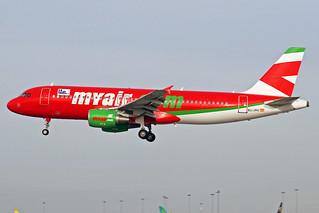 Myair Airbus A320-214 EC-JHJ DUB 22-01-06