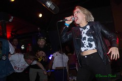 Judy and the Jerks, Black Water Bar, Portland, OR, 8-3-2018 (convertido) Tags: not shit hate order sunk dfy mass arrest snob judy the jerks haram sheer mag rigorous insitution punk hc hardcore sxe crust synth portland oregon london england california southern northern mississippi ohc fest live show color black white photography water bar