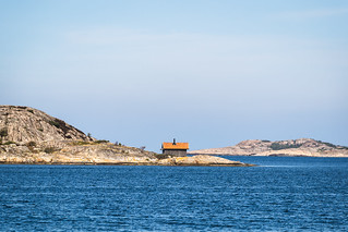 Fisherman's hut on a skerry