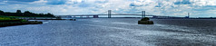 Delaware Memorial Bridge (Kuby!) Tags: kubitschek kuby nikon d810 wilmington de delaware memorial bridge transportation suspension panorama stitched pano
