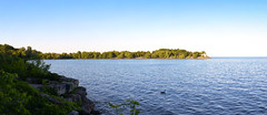 RK McMillon Park Panorama Cropped (Keith Watson Photography) Tags: water panoramic panorama mississauga ontario stitched 93793499n00 volume9