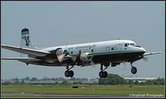 G-SIXC / CVT 31.05.2003 (propfreak) Tags: propfreak egbe cvt coventry baginton gsixc dc6b airatlantique dc6 b1006 civilairtransport xwpfz royalairlao n93459 southernairtransport rosenbalmaviation transcontinental dc6diner fbbdg airfrance
