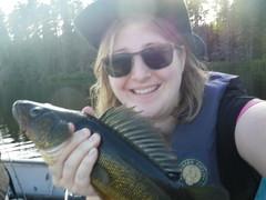 2018-08-05 Fishing 5 (s.kosoris) Tags: skosoris pentaxoptiowg1 wg1 pentax camp camping fishing walleye