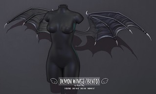 Demon Wings (Bento) by Sweet Thing