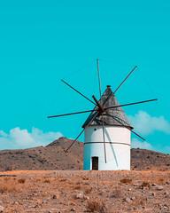 Molino en Cabo de Gata (fcojavier1991) Tags: nikon nikond3300 cabodegata almeria almería cabo de gata arrecife sirenas