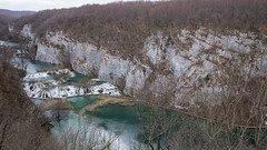 Plitvice Lakes on early spring