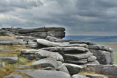 Stanage Edge Rocks (Bri_J) Tags: stanageedge peakdistrict nationalpark hathersage derbyshire uk countryside nikon d7200 hdr clouds sky cliff rocks