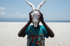 Head On (Max Sturgeon) Tags: djibouti lacassal lac assal affrica salt skull goat street streetphotography travelphotography
