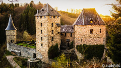 Château de Reinhardstein (BE) (Lцdо\/іс [Offline, on holiday]) Tags: chateau castle kastel reinhardstein waimes belgique belgium belgie beauty april ardennen avril ardennes ardenne medieval weismes wallonie wallonne région eifel ovifat 2018 lцdоіс sunny sunset spring beautiful architecture fairy romantic