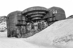 (Feininger's Cat (Thanks for 1.3 million views!)) Tags: meinfilmlab leica jylland løkken abandoned bunker 50mmffequiv blackandwhite bessar3m ilforddelta100 film summaritm50mmf24 northsea danmark scandinavia denmark jutland skandinavien furreby architecture analog fullframe leicasummaritm12450 summarit summarit50 50mm leicam rangefinder messsucher