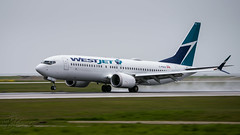 C-FNAX - WestJet - Boeing 737-8 Max (bcavpics) Tags: cfnax westjet boeing 737 738 max aviation aircraft airliner airplane plane cyvr yvr vancouver britishcolumbia canada bcpics