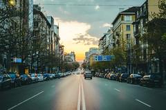 Sofia (Mariyan Velkov) Tags: sunset sofia capital bulgaria street streetphotography spring