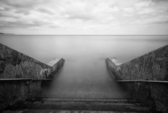Steps To The Unknown (craigdwilkinson) Tags: seascape scarborough hightide steps