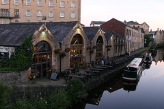 The White Cross [3] (Ian R. Simpson) Tags: whitecross pub bar restaurant canalside canal lancastercanal lancaster lancashire tables benches boats drinkers england