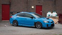 IMG_2310 (PedoJim) Tags: subaru wrx sti varis blue ivy nextmod turbo ej25 wing racecar lachute quebec montreal brembro bakemono track car