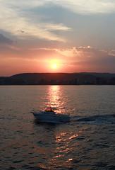 Palamós Harbour (nlopez42) Tags: palamós palamos spain españa cataluna cataluña sea beach cloud sunset sunrise holidays beautiful colorful clouds la fosca lafosca harbour boat seagull canon