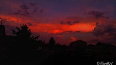 As the storm clouds roll in! (Edale614) Tags: sunset sunsetsaroundtheworld dusk sky moody stormy naturelovers nature photography photo photooftheday picoftheday columbus ohio earl614 wanderlust aroundtheworld red exploreohio explore