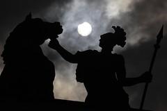 Solar eclipse (Valya V) Tags: sculpture explore summer saintpetersburg spb architecture arch city eclipse solar solareclipse russia sun